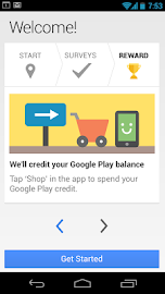 Google Opinion Rewards Screenshot 1