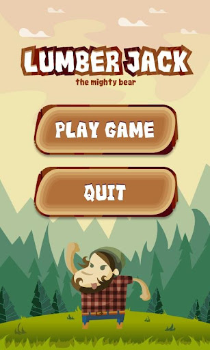 Lumberjack: the mighty bear