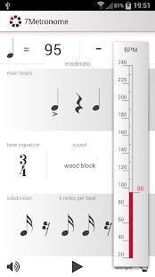 玩免費音樂APP|下載7Metronome: Pro Metronome app不用錢|硬是要APP