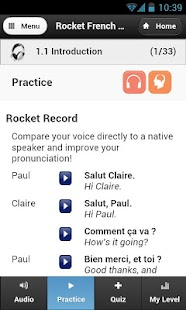 Rocket Languages - screenshot thumbnail