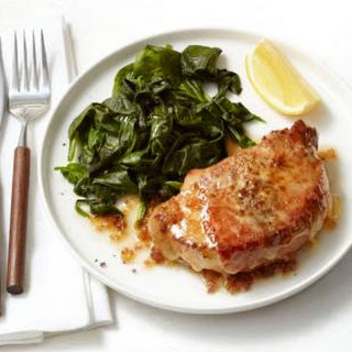 Pork Chops Saltimbocca.