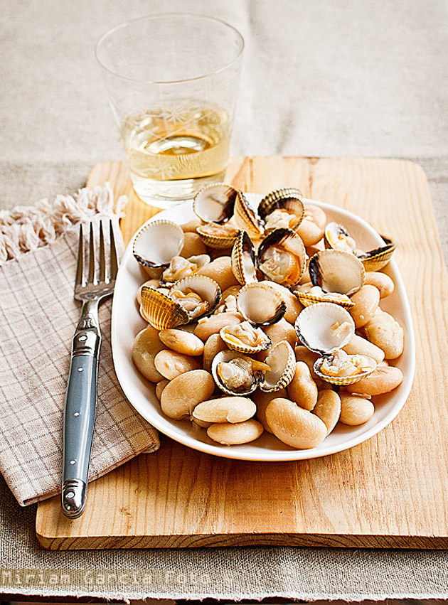 R Clams Good For U Sauteed Beans and Clam...