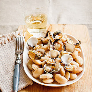 Sauteed Beans and Clams.