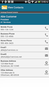 MobiMail for Outlook Web Email - screenshot thumbnail