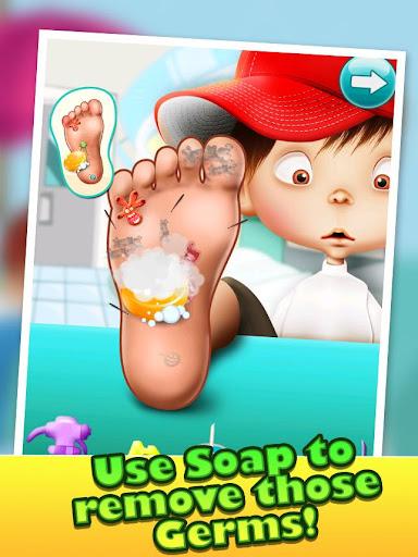 玩免費休閒APP|下載小腳醫生 - 兒童遊戲 app不用錢|硬是要APP