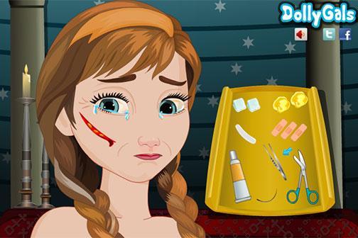 After Injury Frozen Anna - screenshot