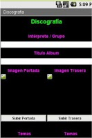 Screenshot of Libros, Discos y Videoteca
