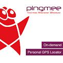 Pingmee Personal GPS Locator logo