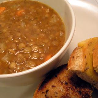 Lentil Soup with Bacon