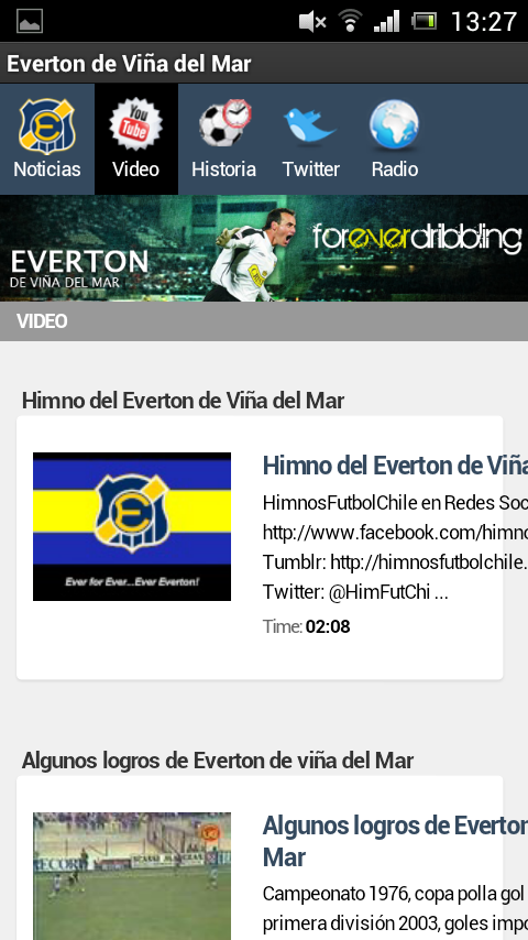 Everton de Viña del Mar - screenshot
