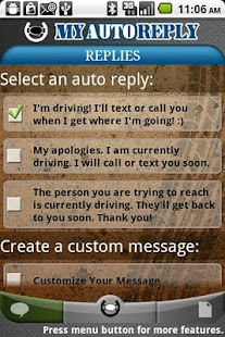 MyAutoReply - screenshot thumbnail