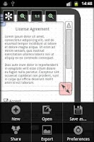 Screenshot of Mockups Lite for Android