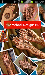 302 Mehndi Designs HD