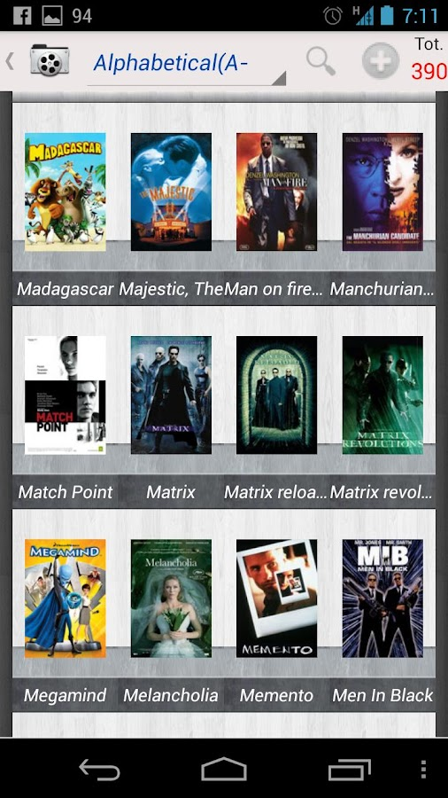 MoviesBook- screenshot