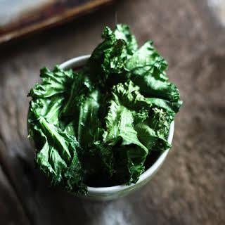 Baked Kale Chips.