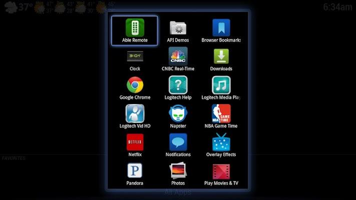 Open Launcher for Google TV - screenshot