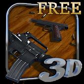 3D Guns Live Wallpaper Free