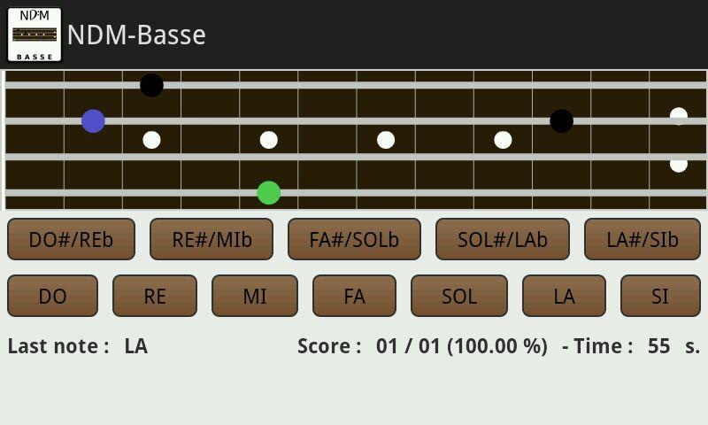 NDM-Basse (Music Notes) - screenshot