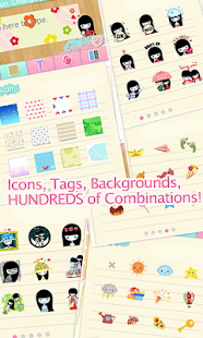 My Deco Memo Sticker - screenshot thumbnail