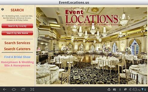Event Locations- screenshot thumbnail
