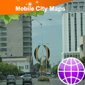 Kingston Jamaica Street Map logo