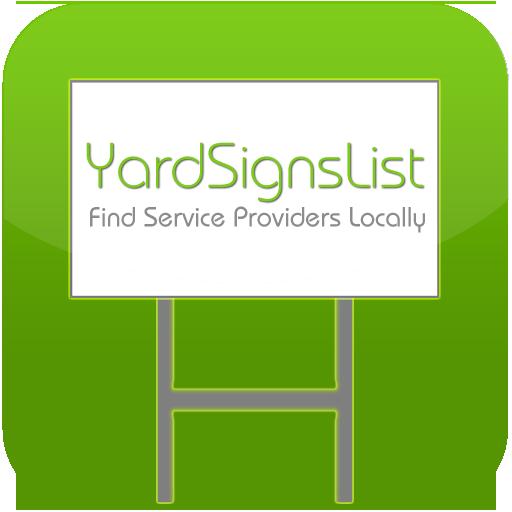 Yard Signs List LOGO-APP點子