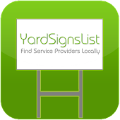 Yard Signs List