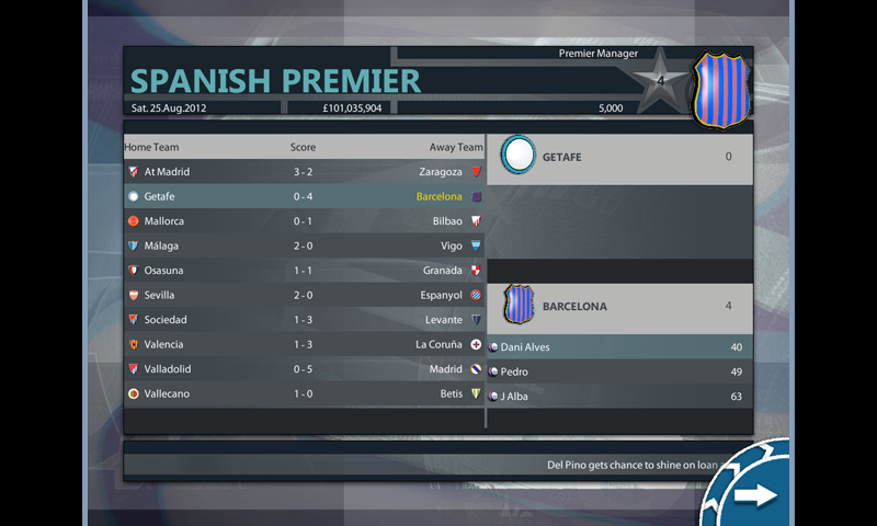 Premier Manager - screenshot