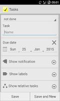 Screenshot of DoIt Tasks