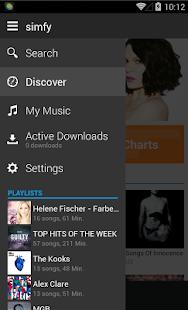 simfy - screenshot thumbnail