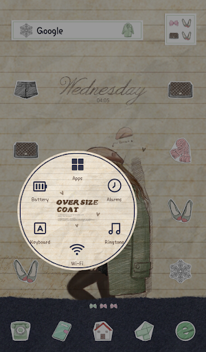 玩個人化App|피피노트(민트코트) 도돌런처 테마免費|APP試玩