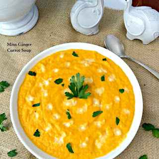 Miso Ginger Carrot Soup