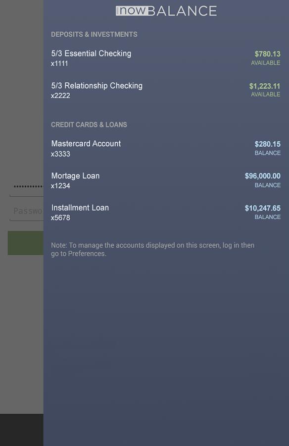 Fifth Third Mobile Banking - screenshot
