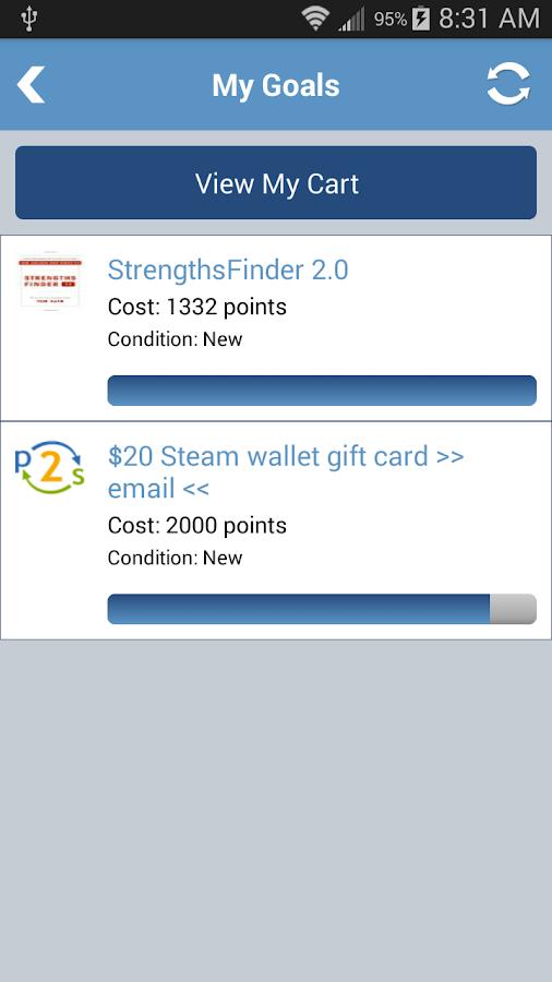 Points2Shop - screenshot