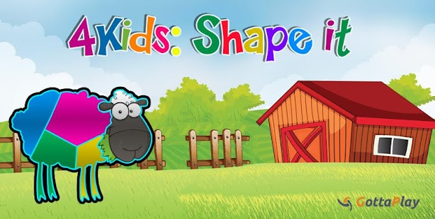 4 Kids: Shape it- screenshot thumbnail