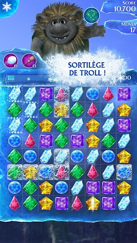 android La Reine des Neiges Free Fall Screenshot 23