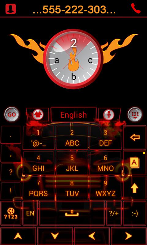 Car-and-Speed-Keyboard-Theme 12