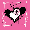 Girl Skull Theme logo