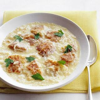 Garlic Bread Soup