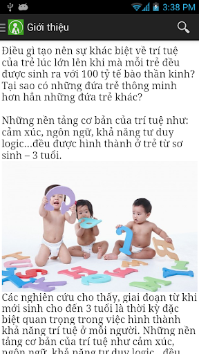 CAM NANG DAY CON