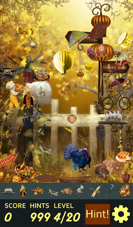 Hidden Object - Turkey Trot!- screenshot
