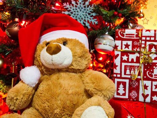 Christmas Teddy Live Wallpaper