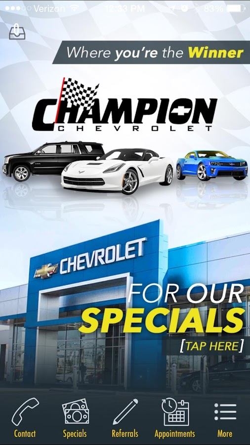 champion chevrolet reno android apps on google play. Cars Review. Best American Auto & Cars Review