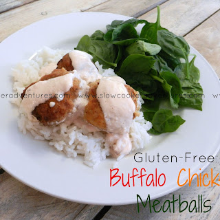 Buffalo Chicken Meatballs....Easy, Healthy, Delicious and Gluten-Free!