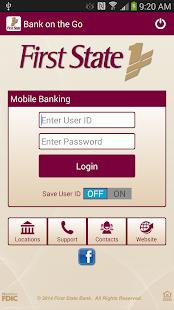 First State Bank TN - Mobile - screenshot thumbnail