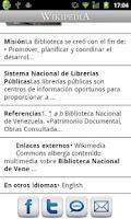 Screenshot of Wikipedia con Movistar (Perú)