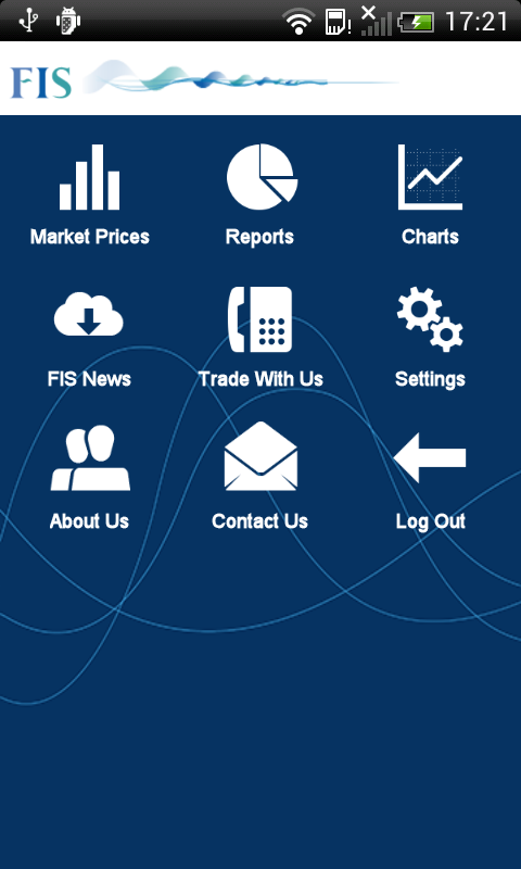 FIS App- screenshot