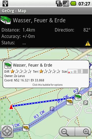GeOrg - Geocaching Organizer - screenshot