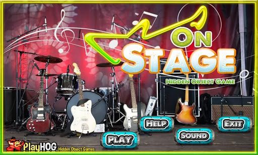On Stage - Free Hidden Objects