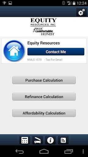 Equity Resources Calculator